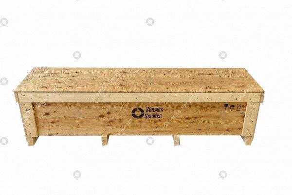 Export box hook winder pallet