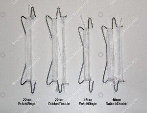 Various types of tomato hooks