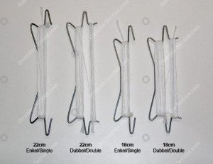 Various types of tomato hooks
