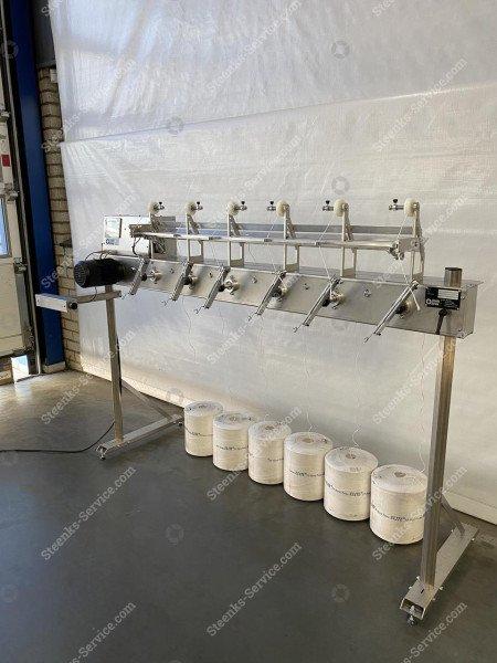 Tomaten hakenaufwicklung Maschine   Bild 5