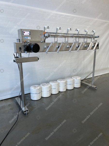 Tomaten hakenaufwicklung Maschine   Bild 10
