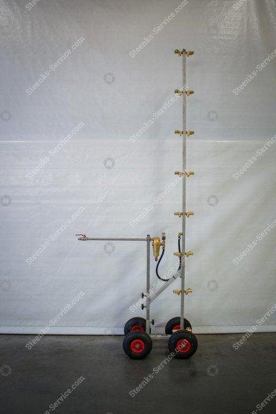 Edelstahl-Strahlrohr Spritzmast   Bild 3