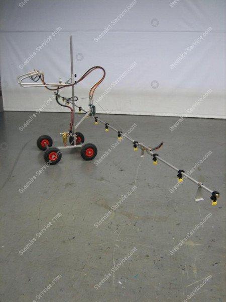 Edelstahl-Strahlrohr Spritzmast   Bild 5