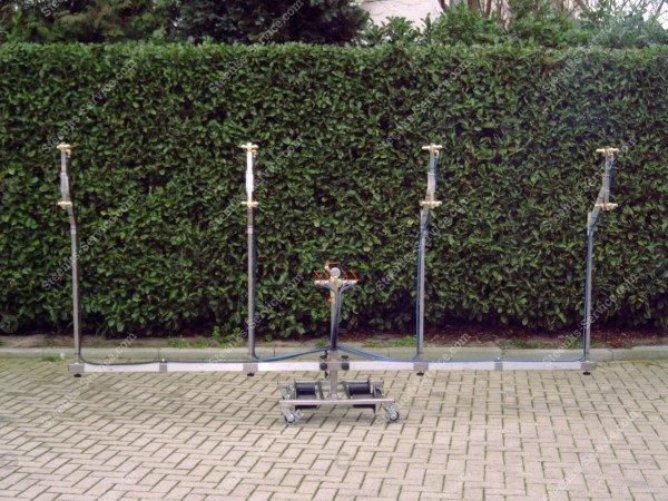 Edelstahl-Strahlrohr Spritzmast   Bild 6