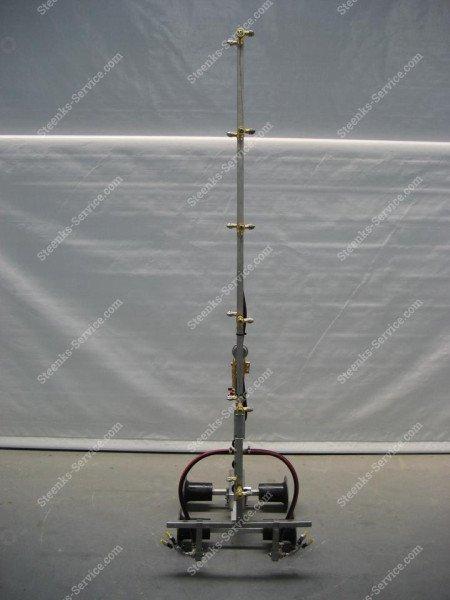 Edelstahl-Strahlrohr Spritzmast   Bild 18