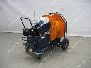Electro hose reel 230V mechanical