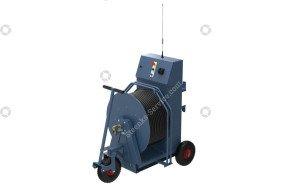 Elektro slanghaspel 230V met 1 doorvoer