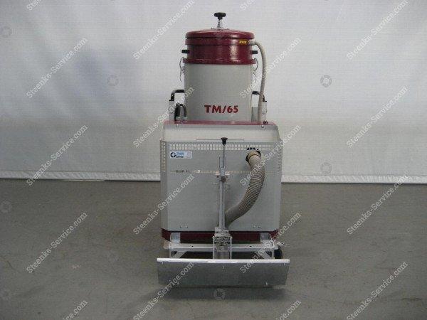 Kettingbaan stofzuiger Comzu TM65   Afbeelding 2