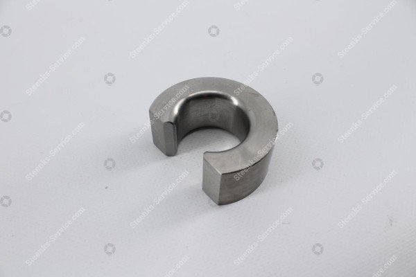 Triangle steel round connection