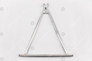 Towbar: Triangle 20mm model VBA
