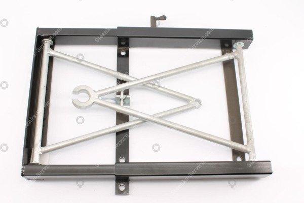 Trekhaak (Combi): spijkstaal305/307 20mm