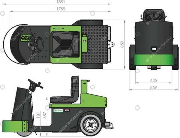 Greentrac GT5000 AGV | Afbeelding 4