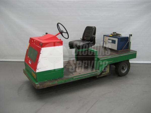Spijkstaal platformwagen