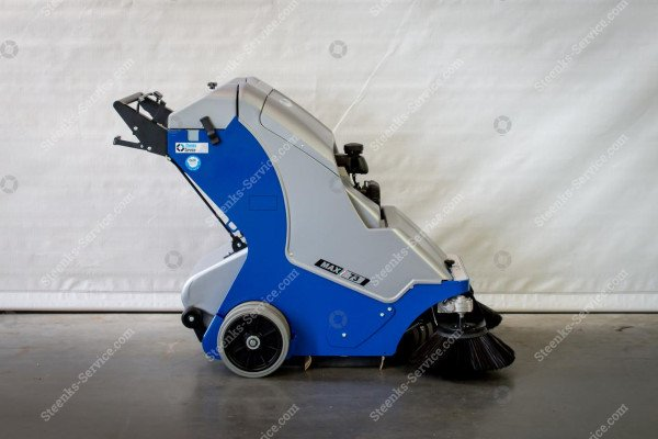 Bändchen-Gewebe Kehrmaschine Stefix 73 | Bild 12
