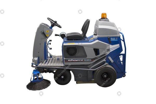 Bändchen-Gewebe Kehrmaschine Stefix 135 | Bild 2
