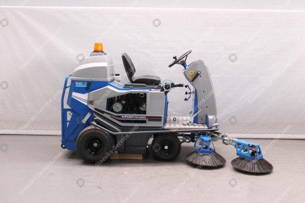 Bändchen-Gewebe Kehrmaschine Stefix 135 | Bild 6