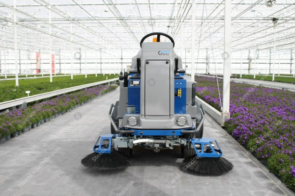 Ground cover floor sweeper Stefix 135   Image 4