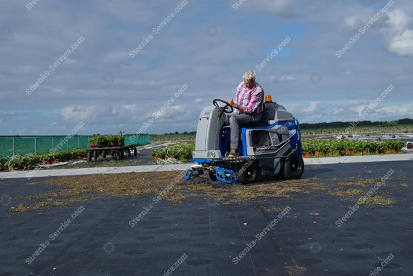 Ground cover floor sweeper Stefix 135   Image 10