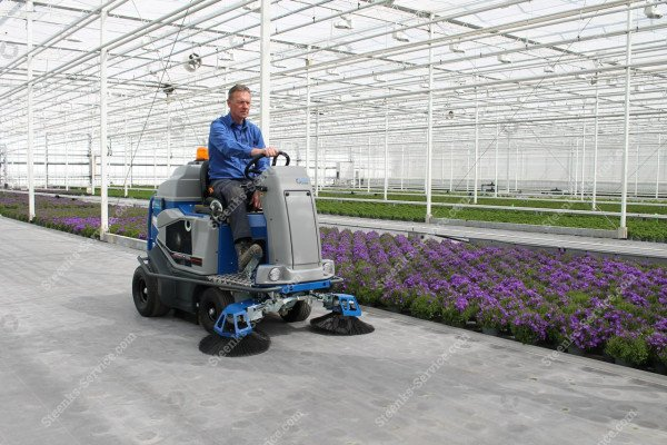 Ground cover floor sweeper Stefix 135   Image 11