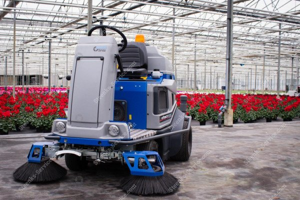 Ground cover floor sweeper Stefix 135   Image 13