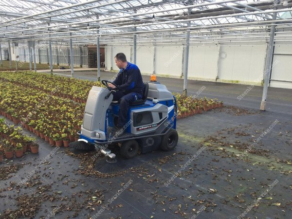 Ground cover floor sweeper Stefix 135   Image 14