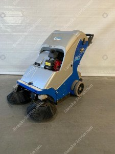 Ground cover floor sweeper Stefix 73