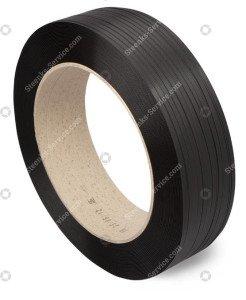 Polypropylene strap black 12x0.75