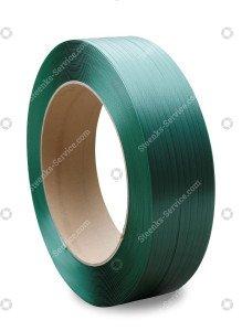 Polyester omsnoeringsband groen