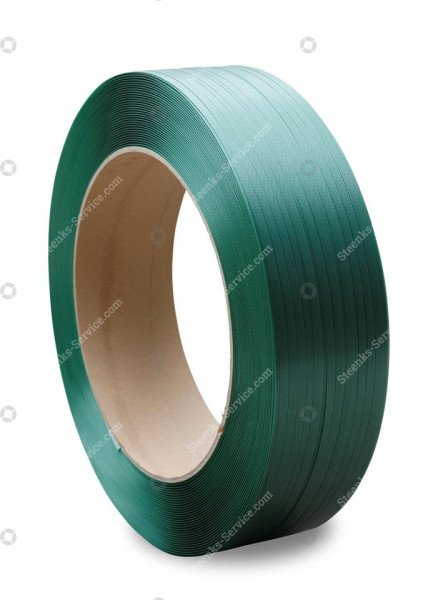 Polyester Umreifungsband grün 11x0.50