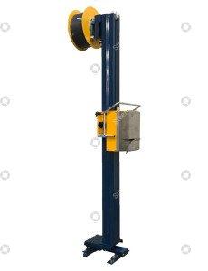 Reisopack 2800 auf Pole & Gleitschlitten
